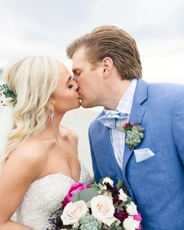 another beautiful couple! . . . . . . . . . . #wedding #weddingwire #theknot #bridetobe #engaged #shesaidyes #groom #bride #