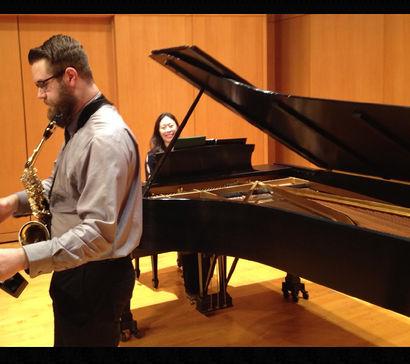 Shane Boeker, saxophone