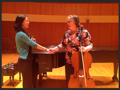 Pamela Frame, cello