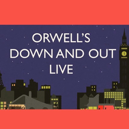 Our dear friend @robynd3 is working with the Orwell Foundation and UCL to bring an immersive, and very timely, reading of Down and Out in Paris and London with readings from Simon Schama, Frances Barber, Jack Monroe and more and it's happening in both Paris and London. It'll be live streamed across the country and if you're in London, it's free to attend. Look at the Orwell Foundation's website for more info.