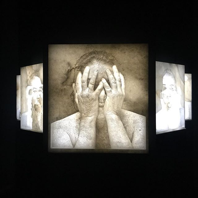 Marina Abramovitch's incredible alabaster brought some harrowing magic to @masterpiecelondon today. Highly recommended!
