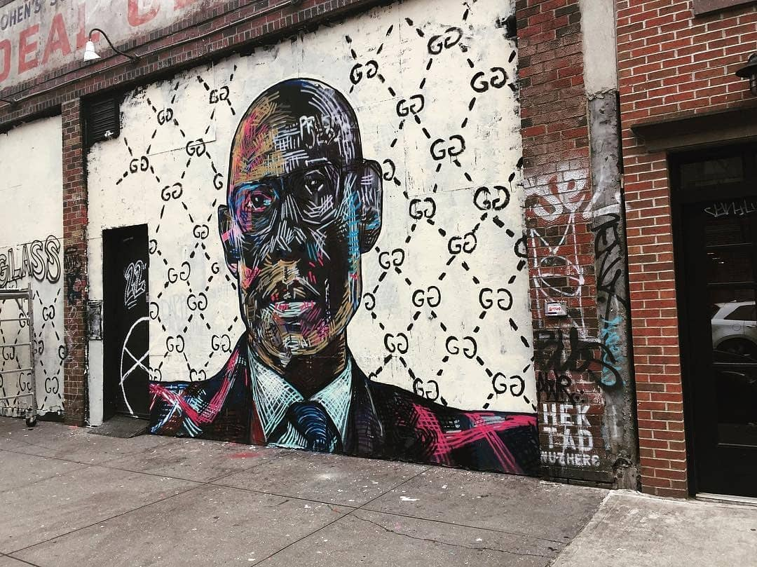 A TRIBUTE TO DAPPER DAN OF HARLEM , 22 E 2ND ST