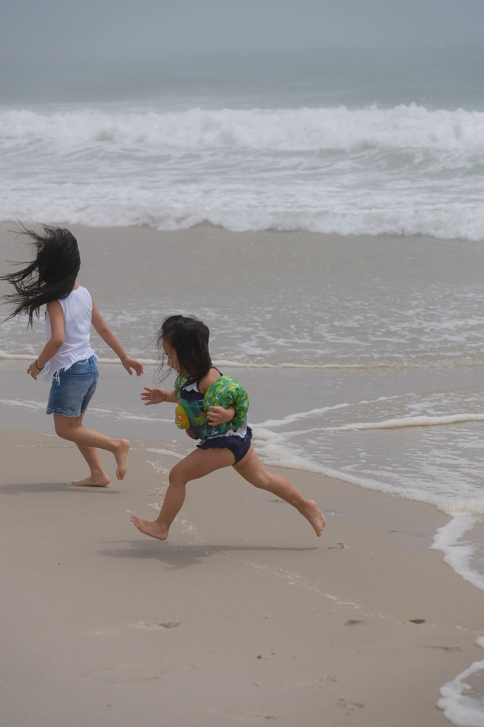 More fun at  Lido Beach  this summer. My little one using the awesome