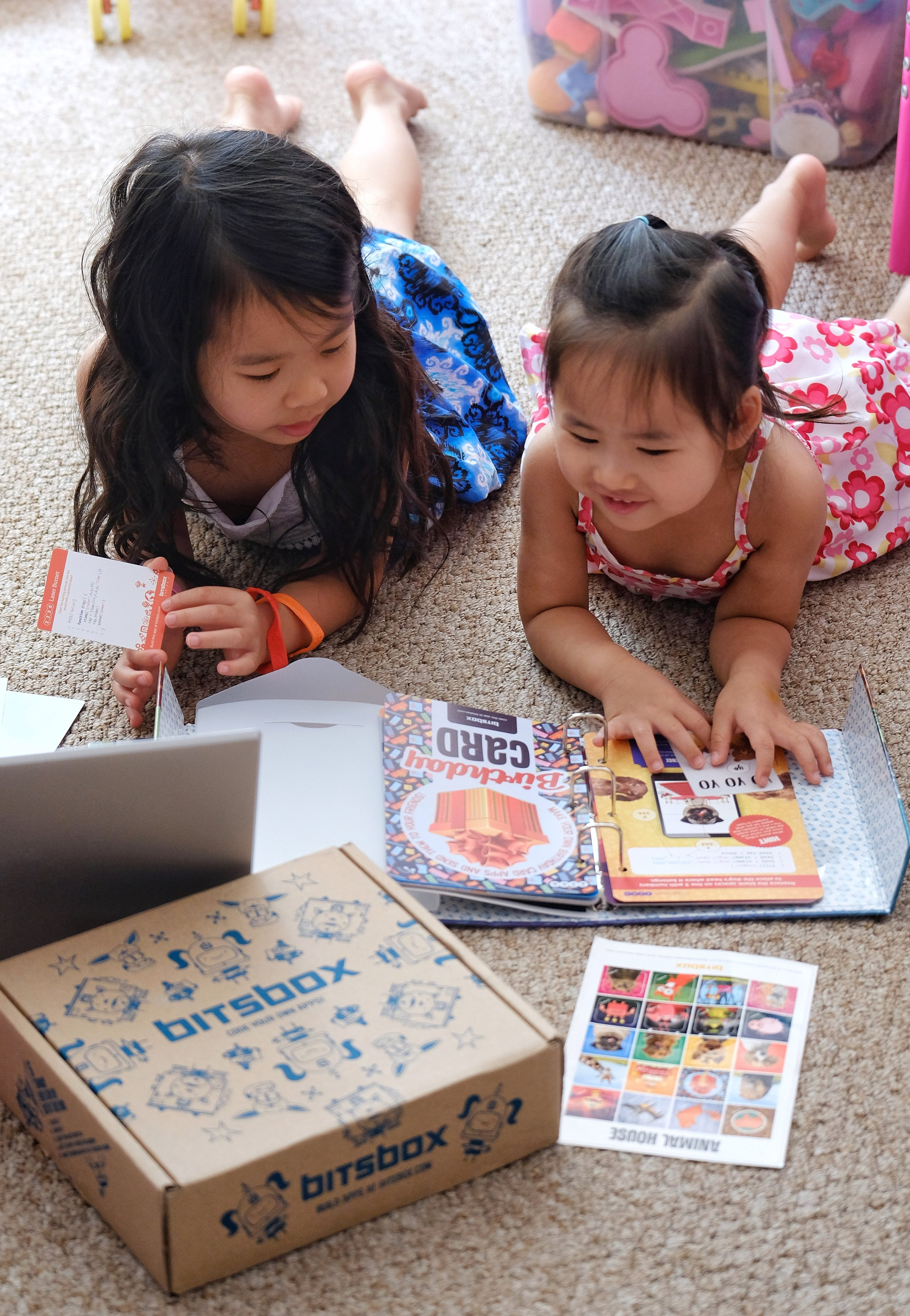 My kids are loving the  Bitsbox coding for kids . It's their first time using or coding and they really enjoy it. Let's hope there' a future in it!