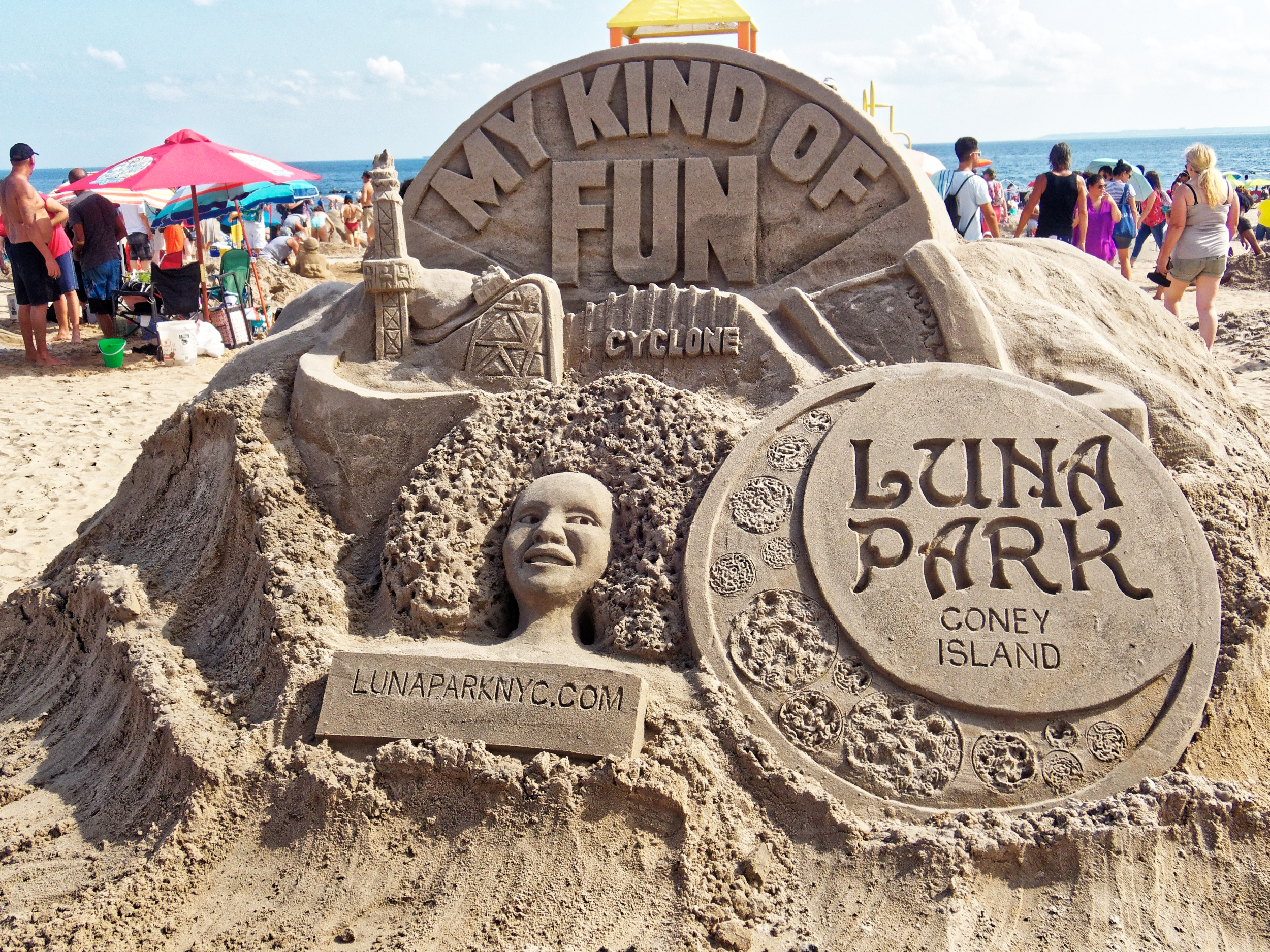 Photo:  Alliance for Coney Island Sand Sculpting Competition