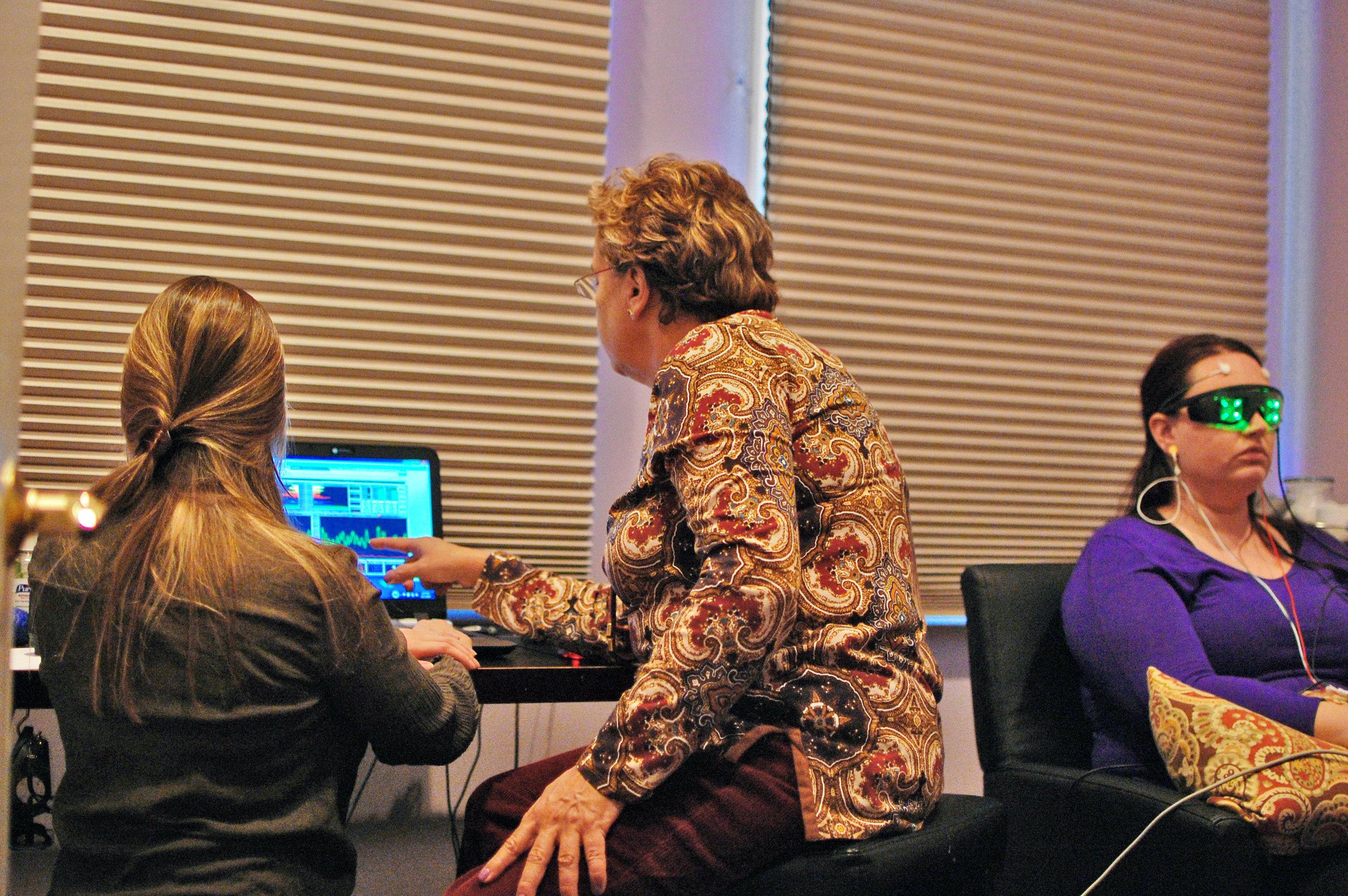 Reviewing Neurofeedback Results