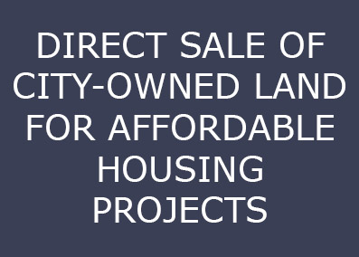 The City has a policy in place that permits the direct...   Continue Reading