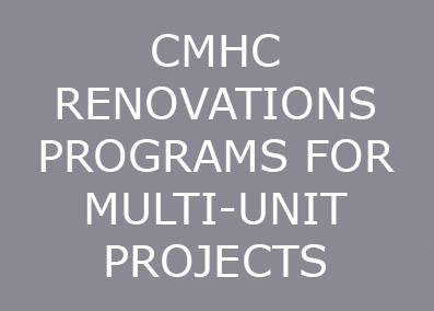 CMHC offers funding for rehabilitation of...  Continue Reading