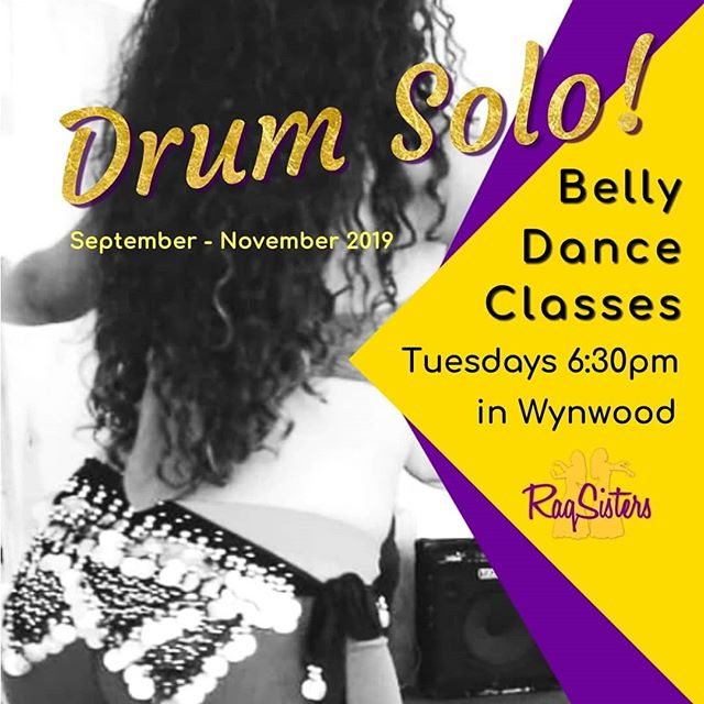 TONIGHT AND EVERY TUESDAY AT 6:30PM IN WYNWOOD (Near Midtown Mall) 💛 Learn an exciting Drum Solo appropriate for all levels!  Location: @hgab_studios 46 NW 36 St | Miami | 33127  #RaqSisters #bellymotions #wynwood #wynwoodartsdistrict #wynwoodlife #brickell #brickellmiami #brickellliving #brickellife #midtownmiami #miamidesigndistrict #wynwoodbellydance #wynwoodfitness #northbeach #miamidesigndistrict #mimo #miamibellydance #popupmiami #miamipopup #miamidancestudio  #missluisaraks #alexandramolina  #dancestudiomaimi #miamidanceclass #miamidancefitness #miamidance #miamidancers #fitnessdance