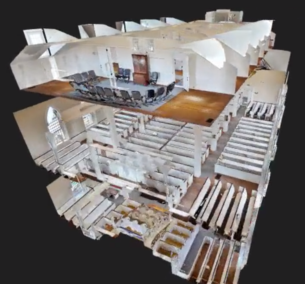 Explore the Kirtland Temple, on your computer or with VR goggles