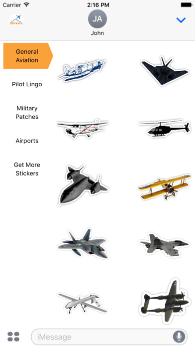 aviation-sticker-pack-general-aviation-stickers-iMessage.jpeg