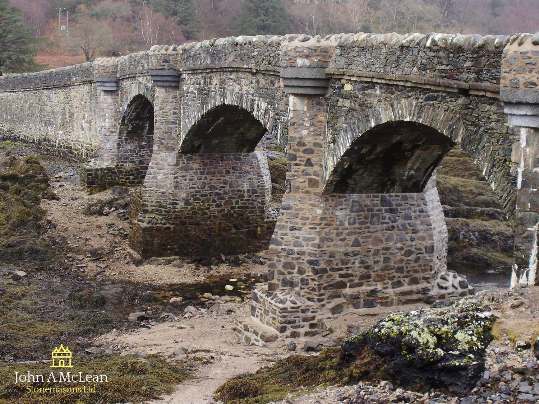 Eilean Donan Castle Bridge