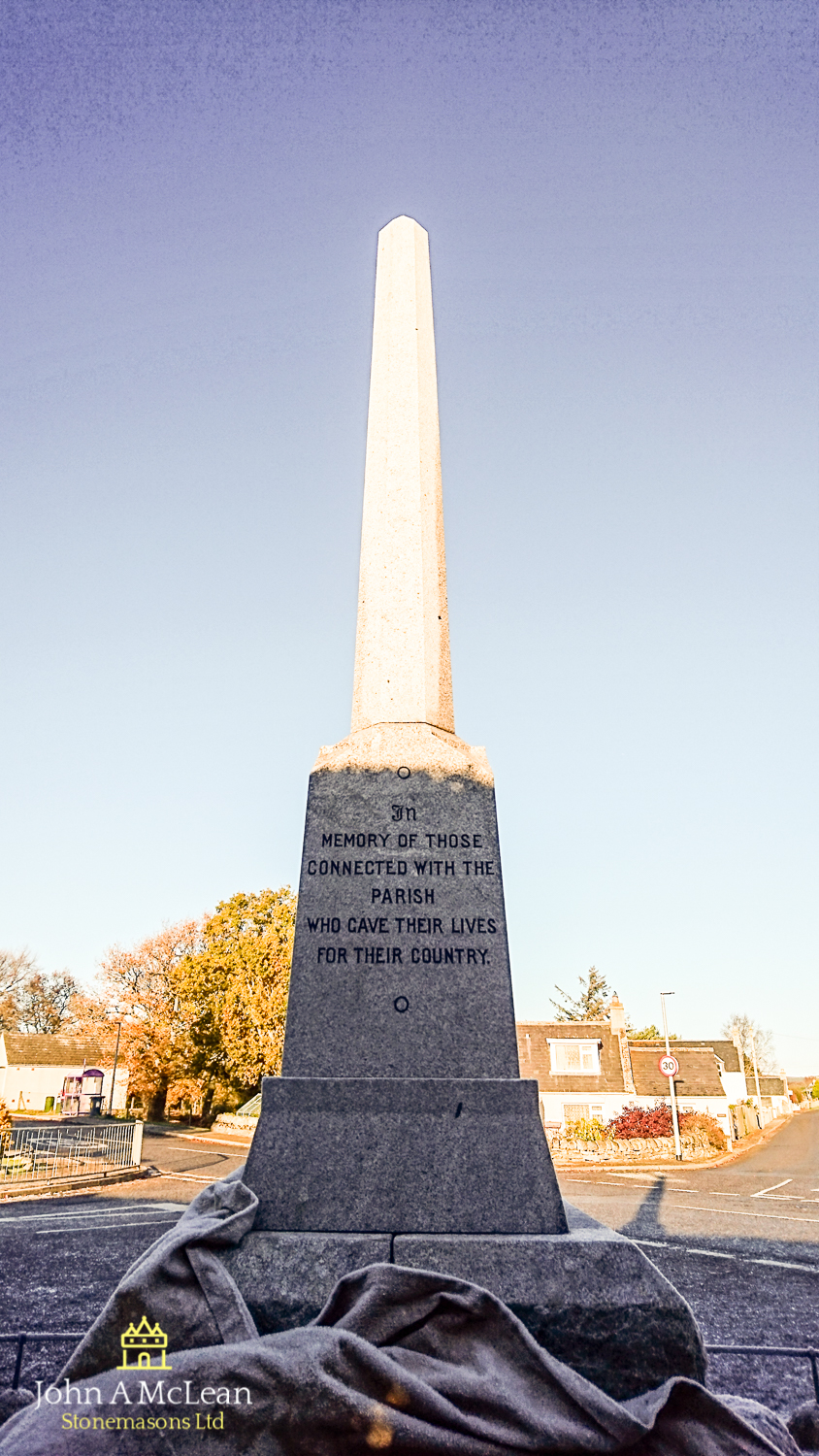 Edderton war memorial