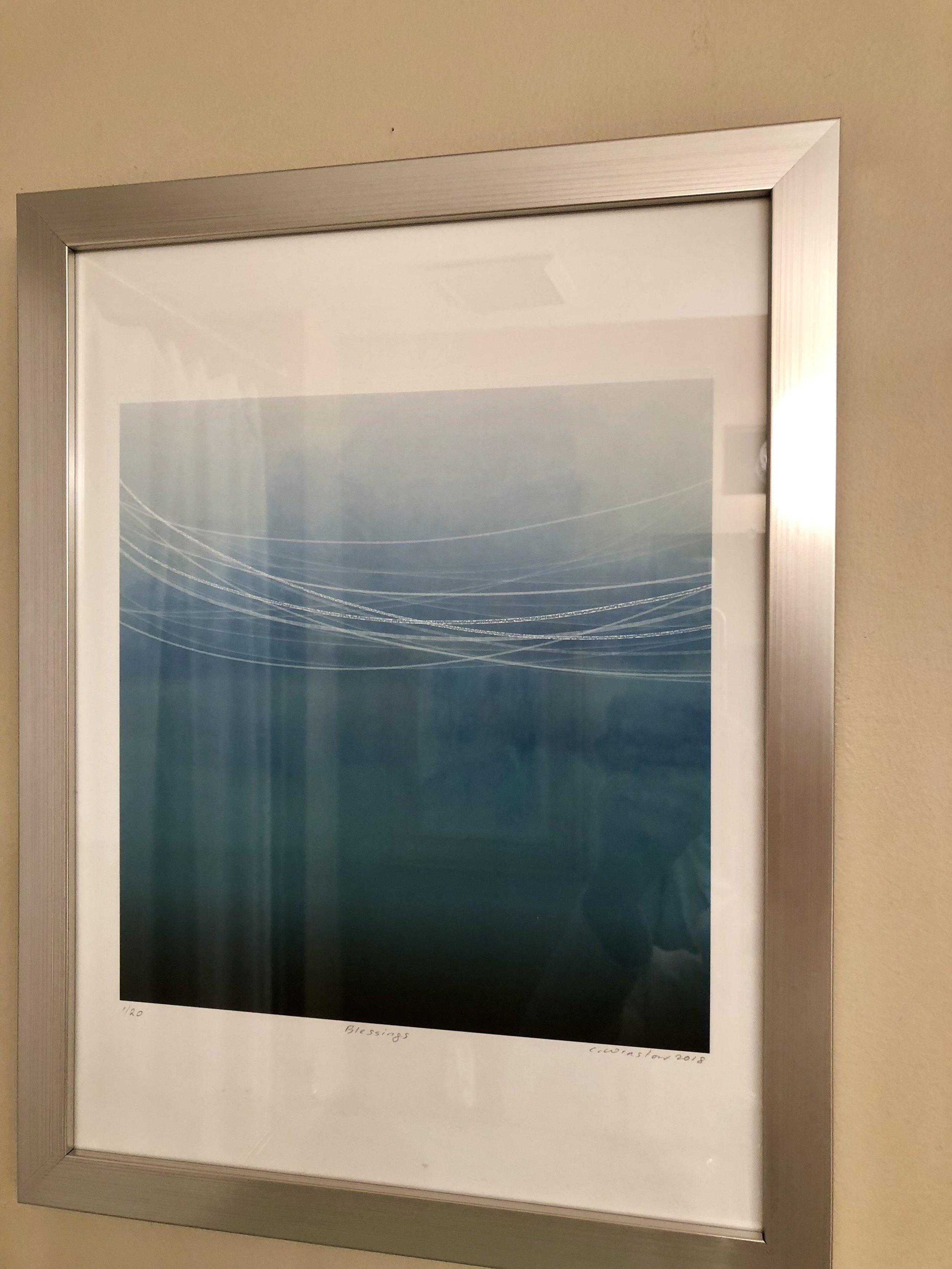 Blessings, framed archival pigment print