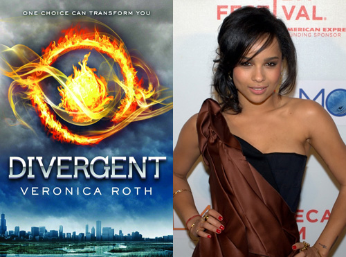 Zoe Kravitz has been cast to play Christina in the Divergent movie