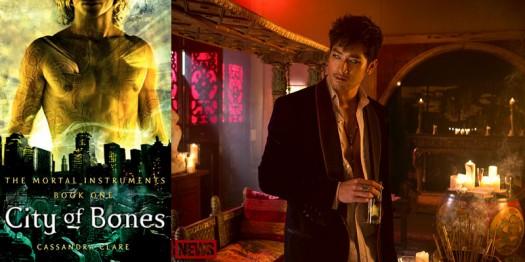 Godfrey Gao as Magnus Bane in the City of Bones movie