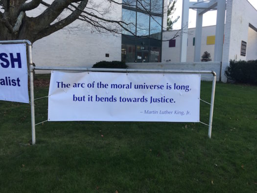 """""""The arc of the moral universe is long, but it bends toward justice."""" — Martin Luther King, Jr."""