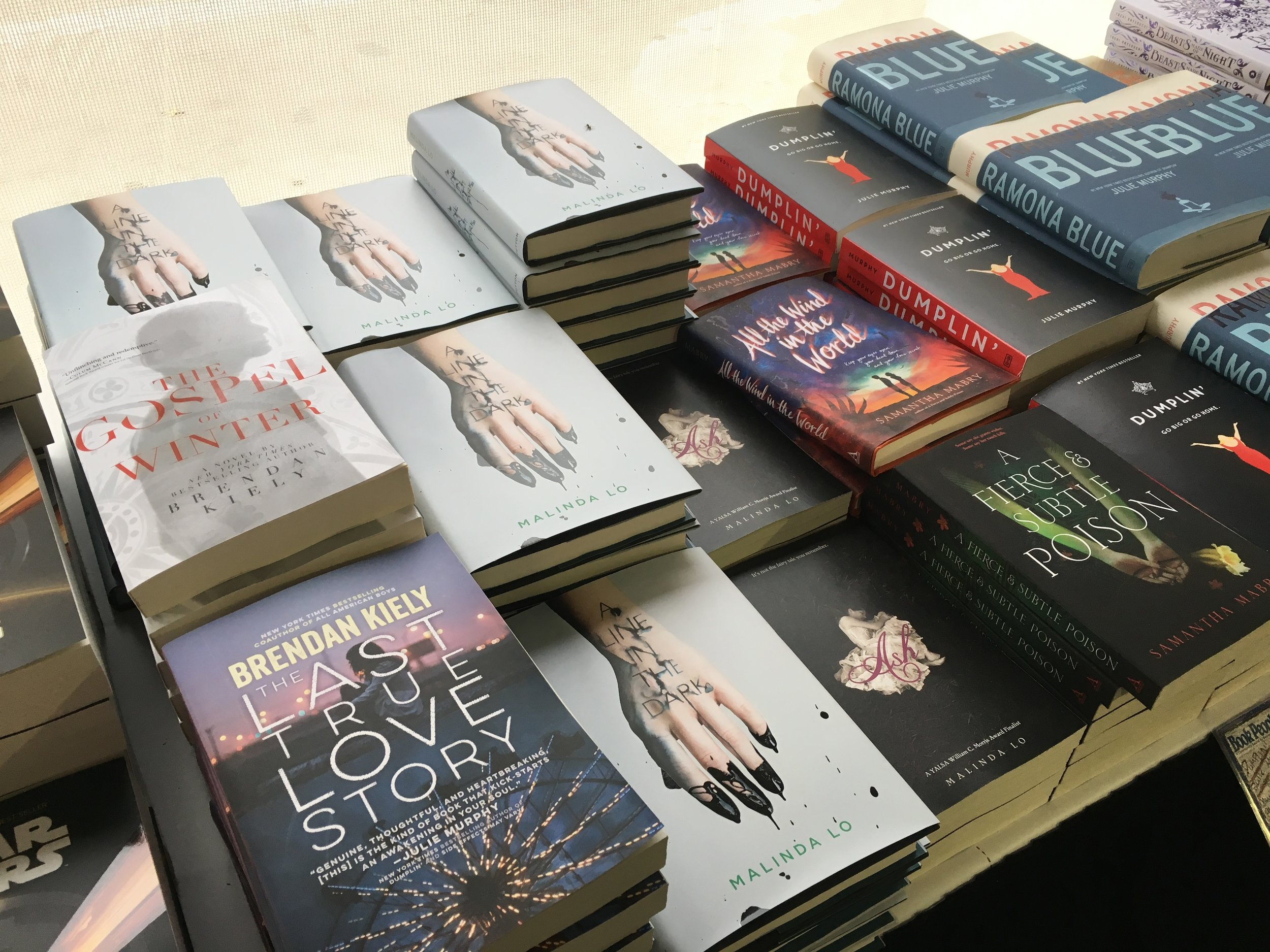 books for sale at the texas book festival in austin on nov. 4, 2017