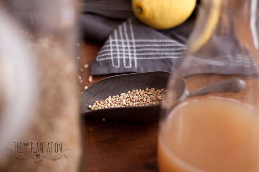 raw vegan porridge - The Little Plantation