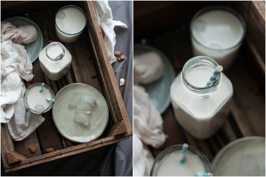 How to make raw vegan almond milk - The Little Plantation