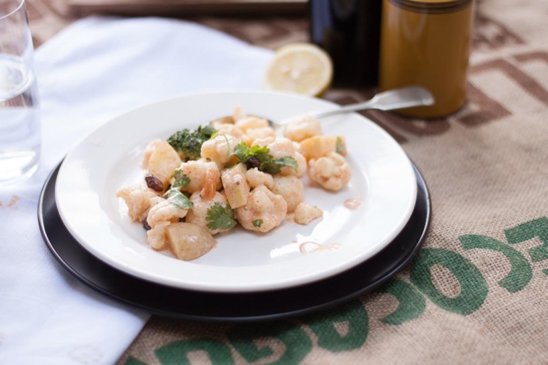 How to make Curried Potato, Cauliflower and Broccoli Salad - The Little Plantation