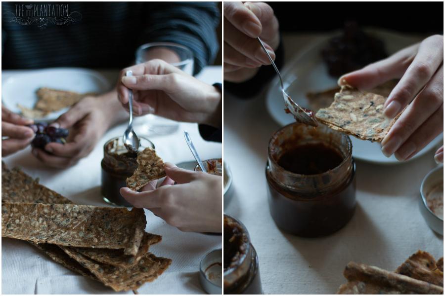 vegan Swedish crisp bread recipes - The Little Plantation