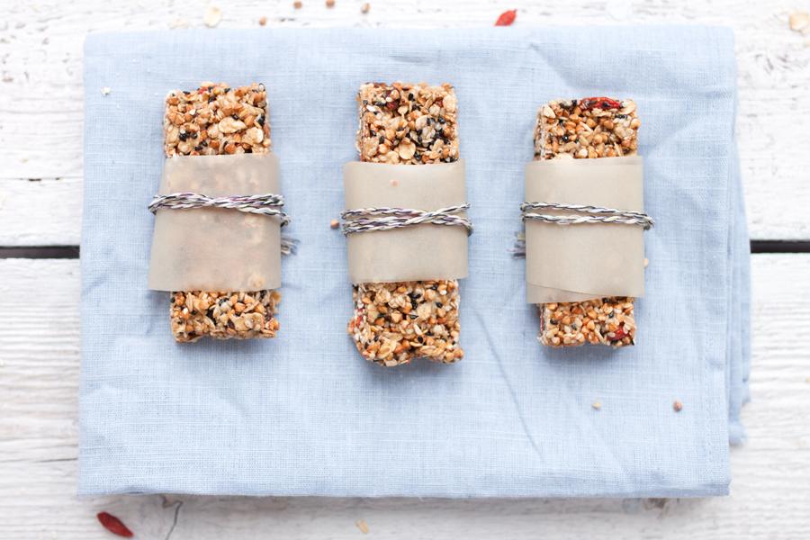 How to make gluten-free no-bake granola bars - The Little Plantation