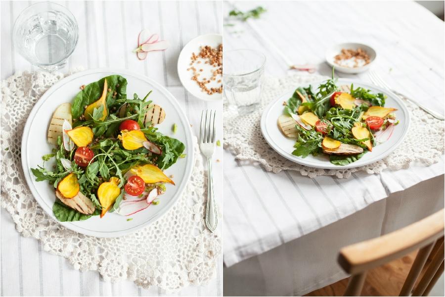 Leafy Green Salad Recipe - The Little Plantation
