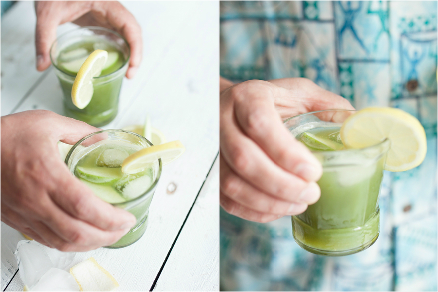 How to make green fennel juice - The Little Plantation
