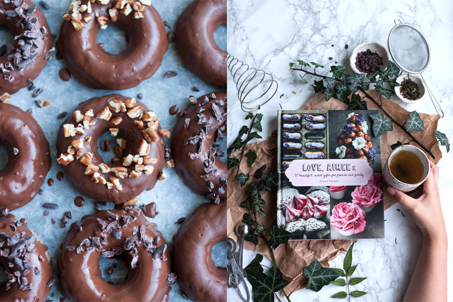 How to make gluten-free chocolate doughnuts - The Little Plantation