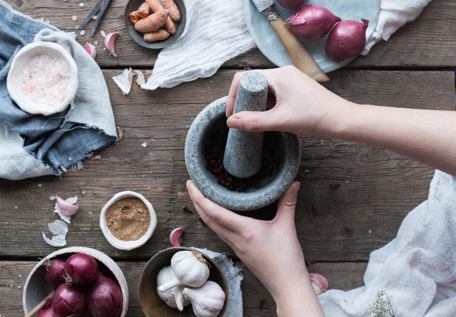 Vegan Neatball Masala - The Little Plantation