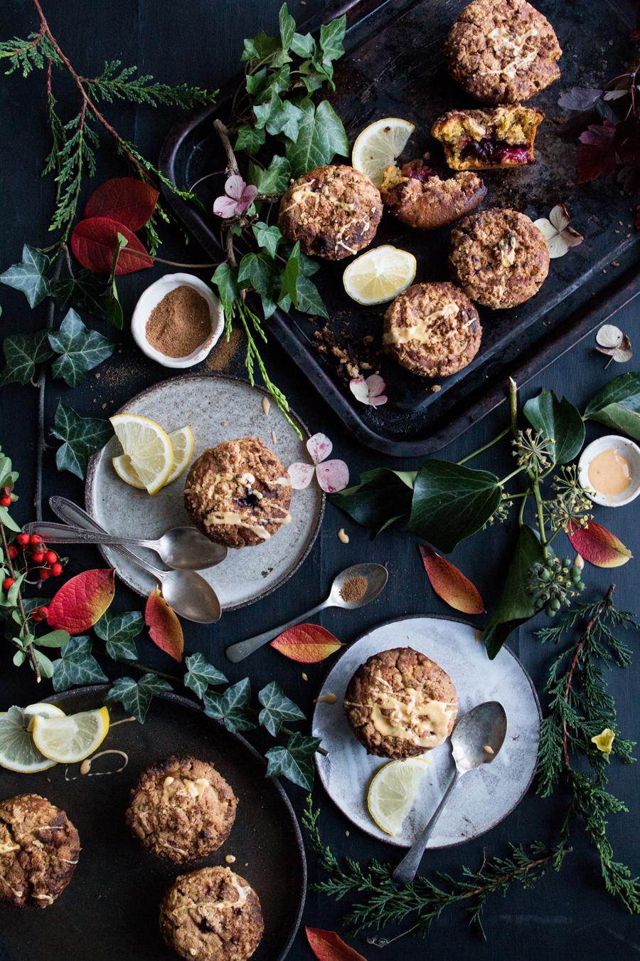 Easyy recipe for pumpkin spiced muffins - The Little Plantation