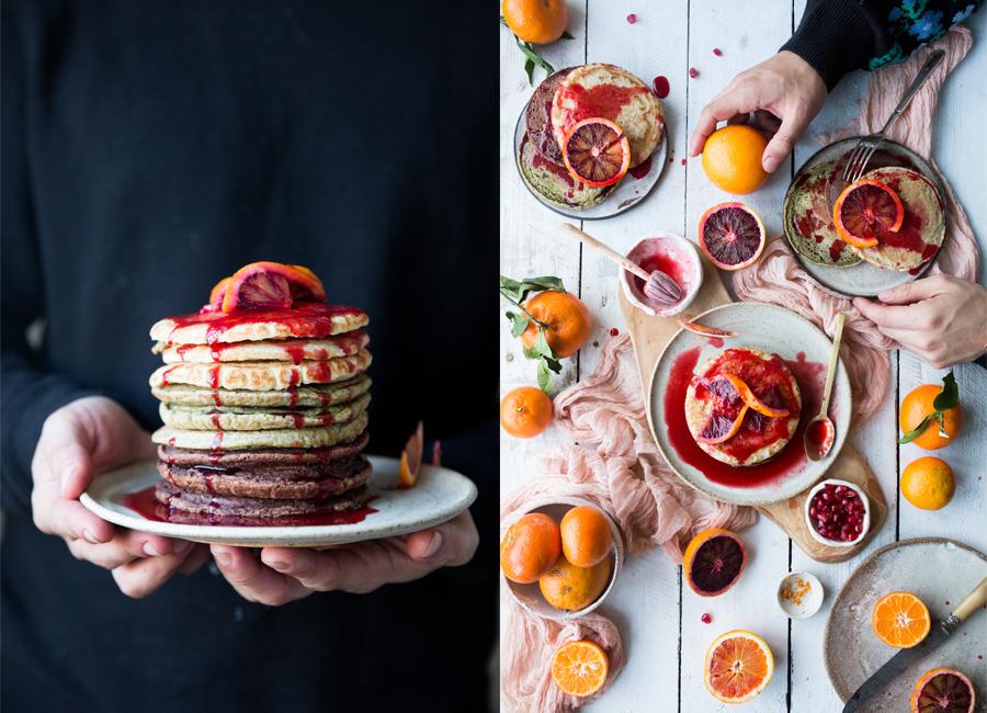 How to make easy vegan pancakes - The Little Plantation blog