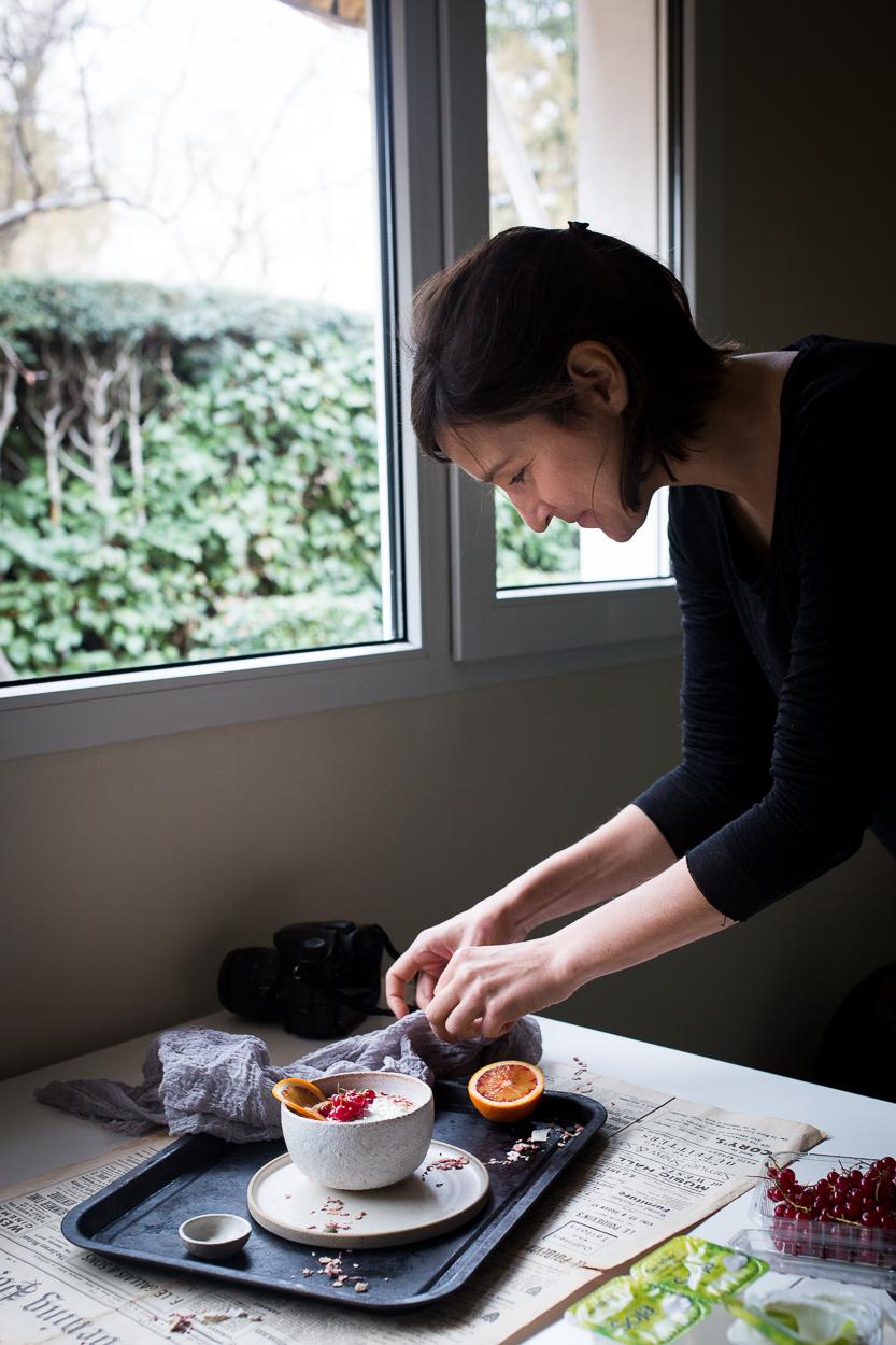 Anna  food styling like a pro.