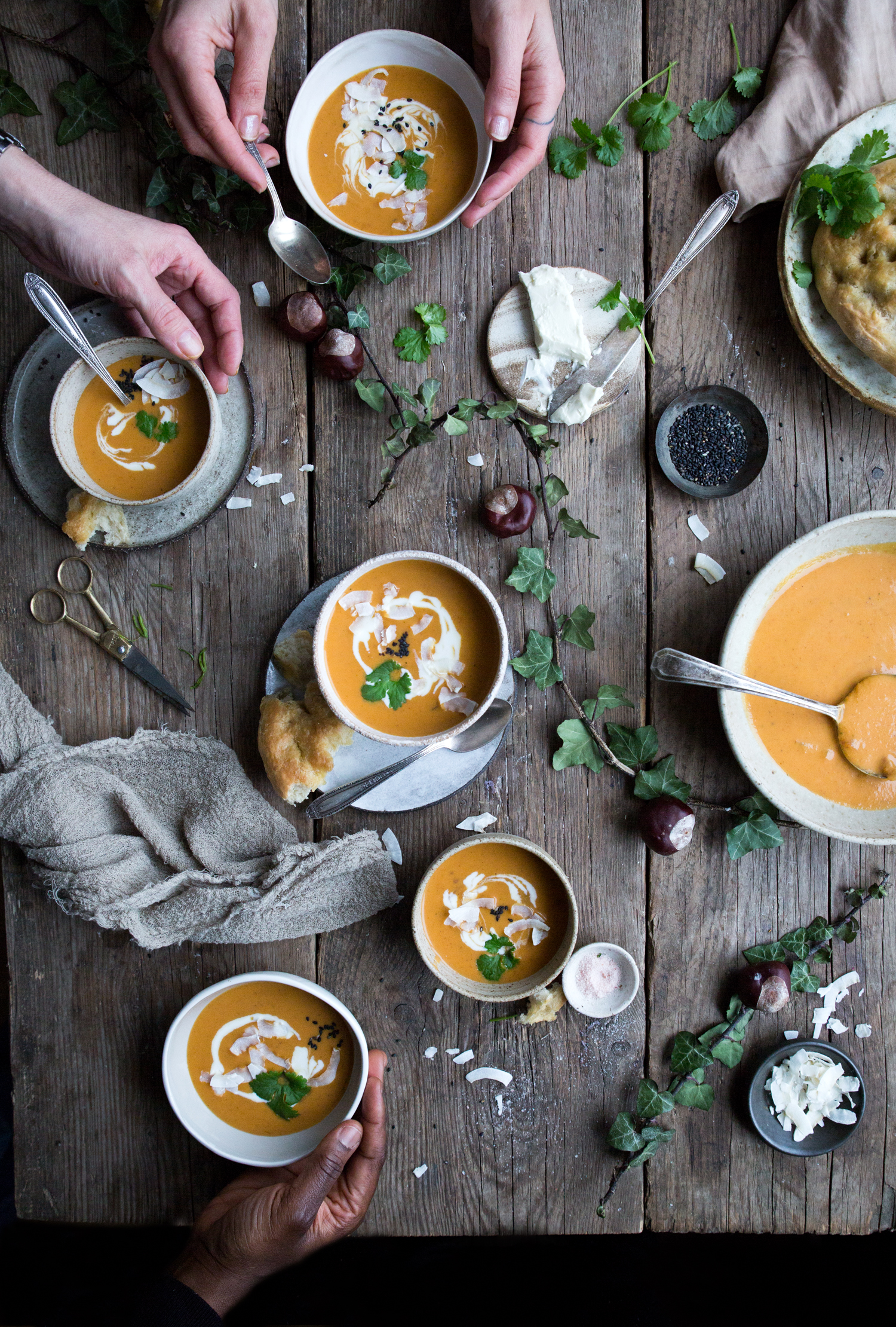 Learn food styling in London - The Little Plantation
