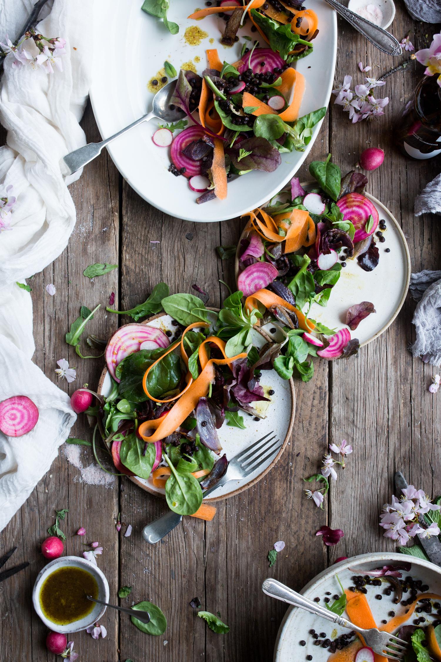 Vegan protein salad recipe