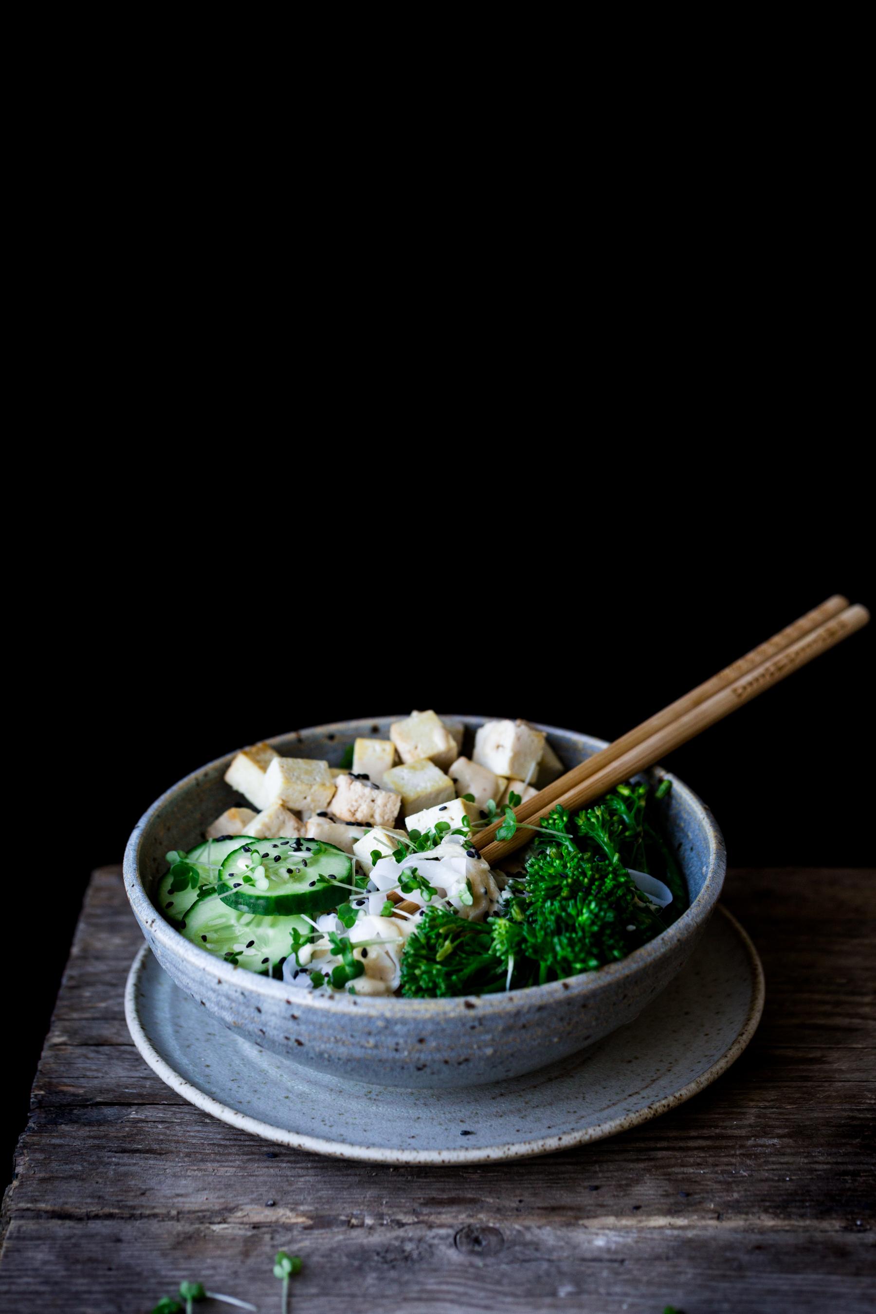 Easy vegan tofu satay recipe - The Little Plantation
