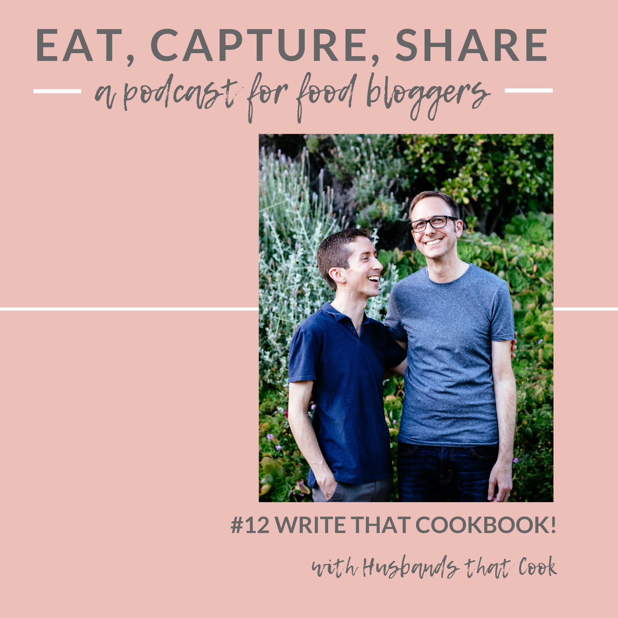 How to write a cookbook - Eat, Capture, Share Podcast episode 12