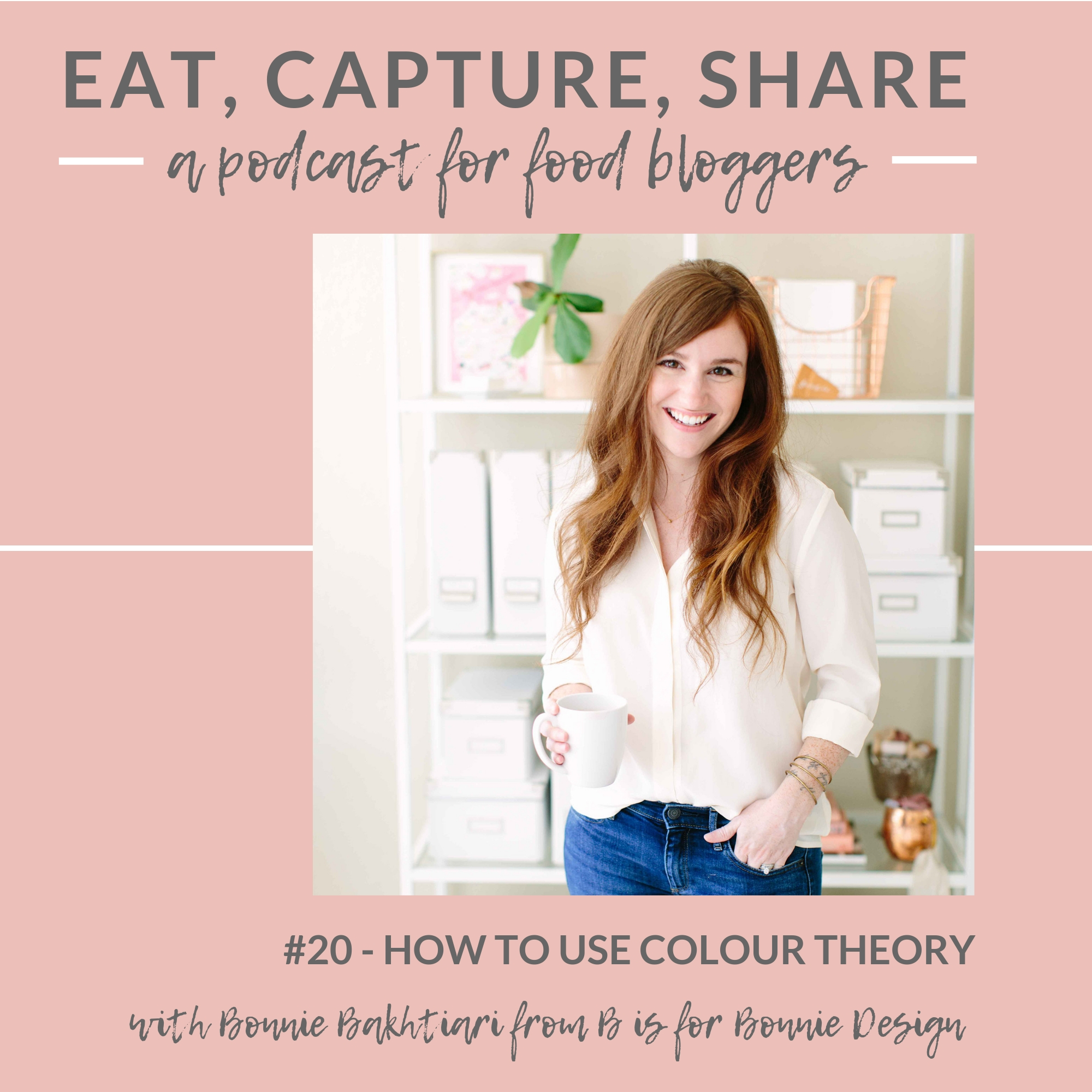 Colour theory and colour wheel ideas for instagram - Eat, Capture, Share Podcast