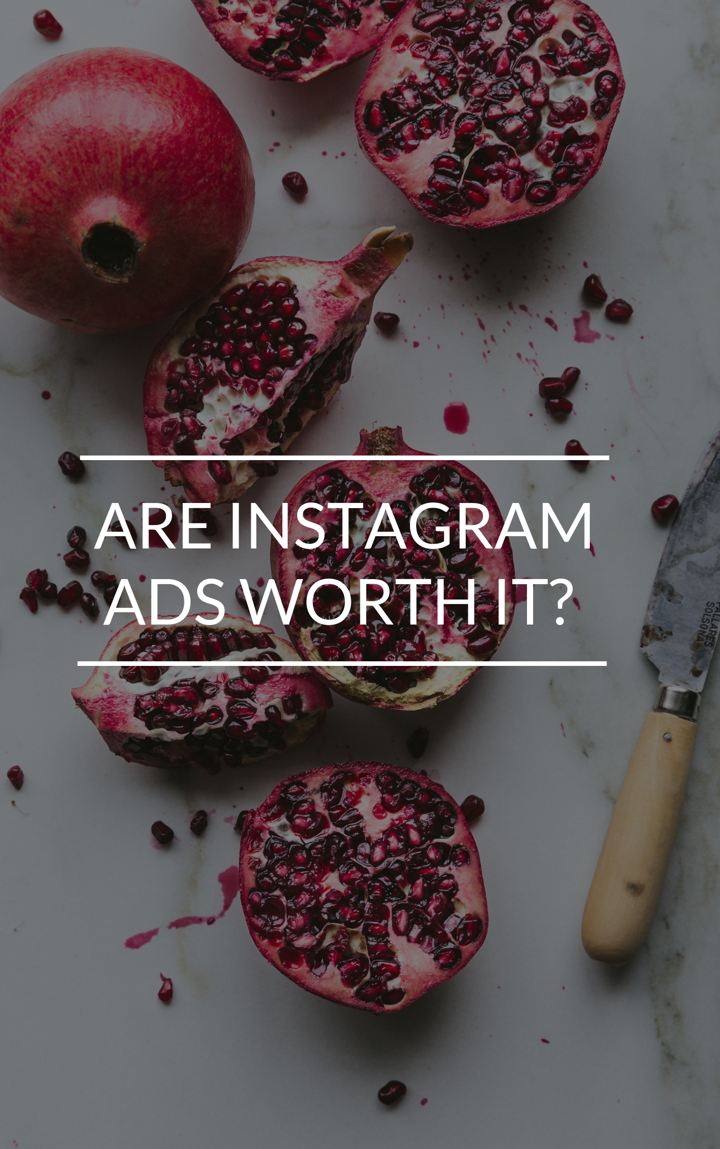 How to use instagram ads to promote my blog?