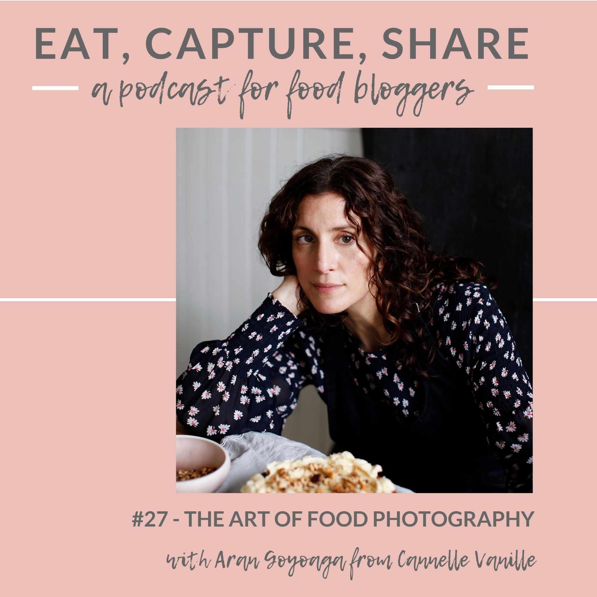 The art of food photography with Aran Goyoaga - Eat, Capture, Share Podcast