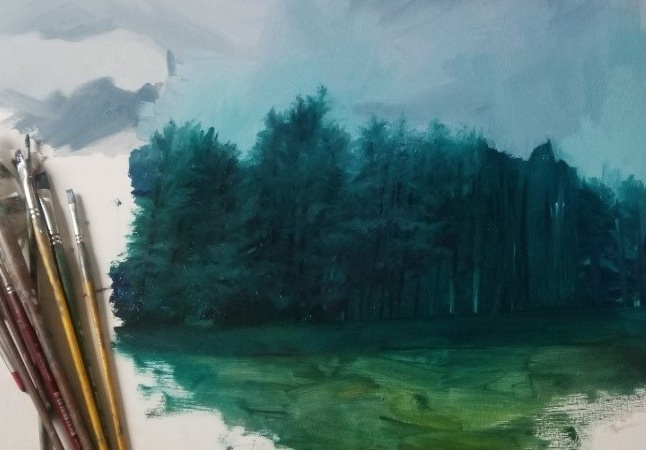 Beginner Landscape Painting I July 11th-15th