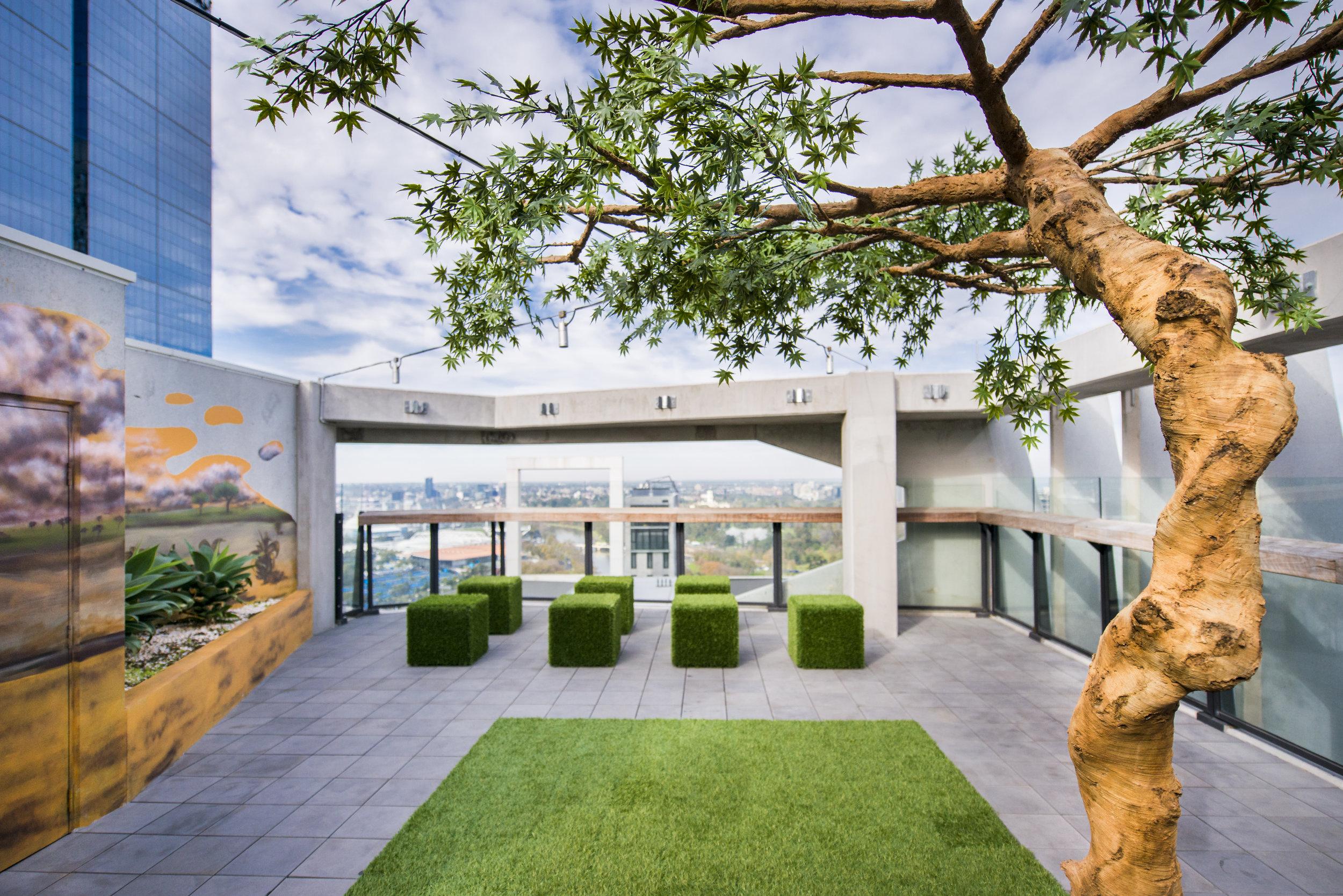 L22 Rooftop garden