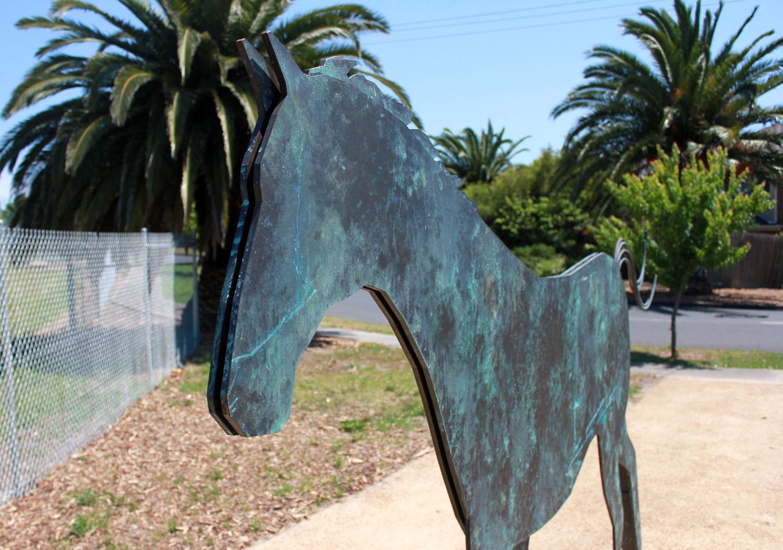 Sandy the Warhorse