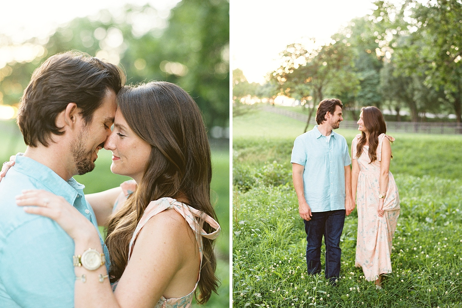 Downtown Lexington Engagement Session Talon Winery Picnic Engagement Session Gal Meets Glam Anthropologie Dress Laura Bodnar Photography Lexington Wedding Photographer Film Photography_0018-1.jpg