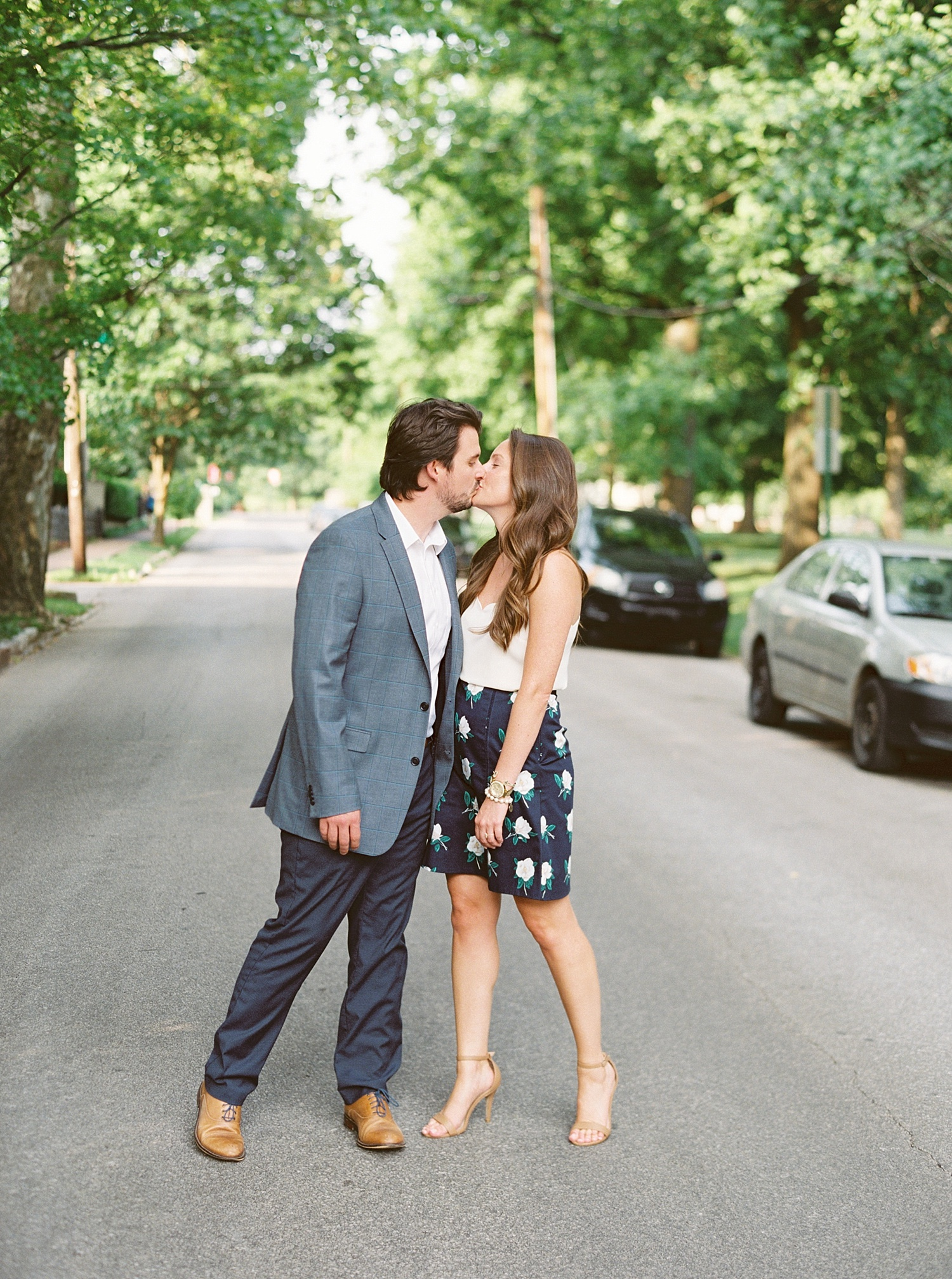 Downtown Lexington Engagement Session Talon Winery Picnic Engagement Session Gal Meets Glam Anthropologie Dress Laura Bodnar Photography Lexington Wedding Photographer Film Photography_0005-1.jpg