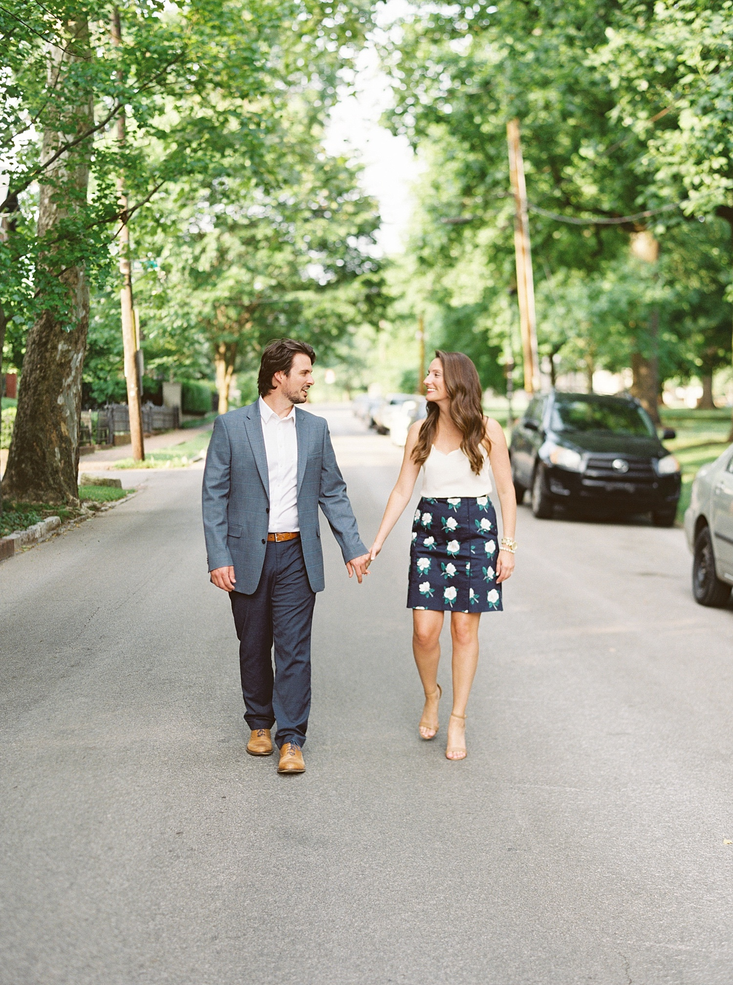 Downtown Lexington Engagement Session Talon Winery Picnic Engagement Session Gal Meets Glam Anthropologie Dress Laura Bodnar Photography Lexington Wedding Photographer Film Photography_0004-1.jpg