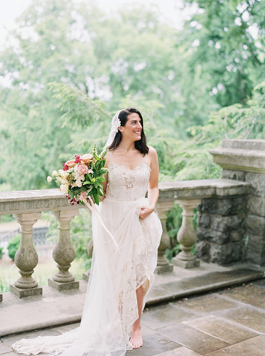 Cheekwood Wedding Laura Bodnar Photography Nashville Wedding Photographer Film Photography_0008.jpg