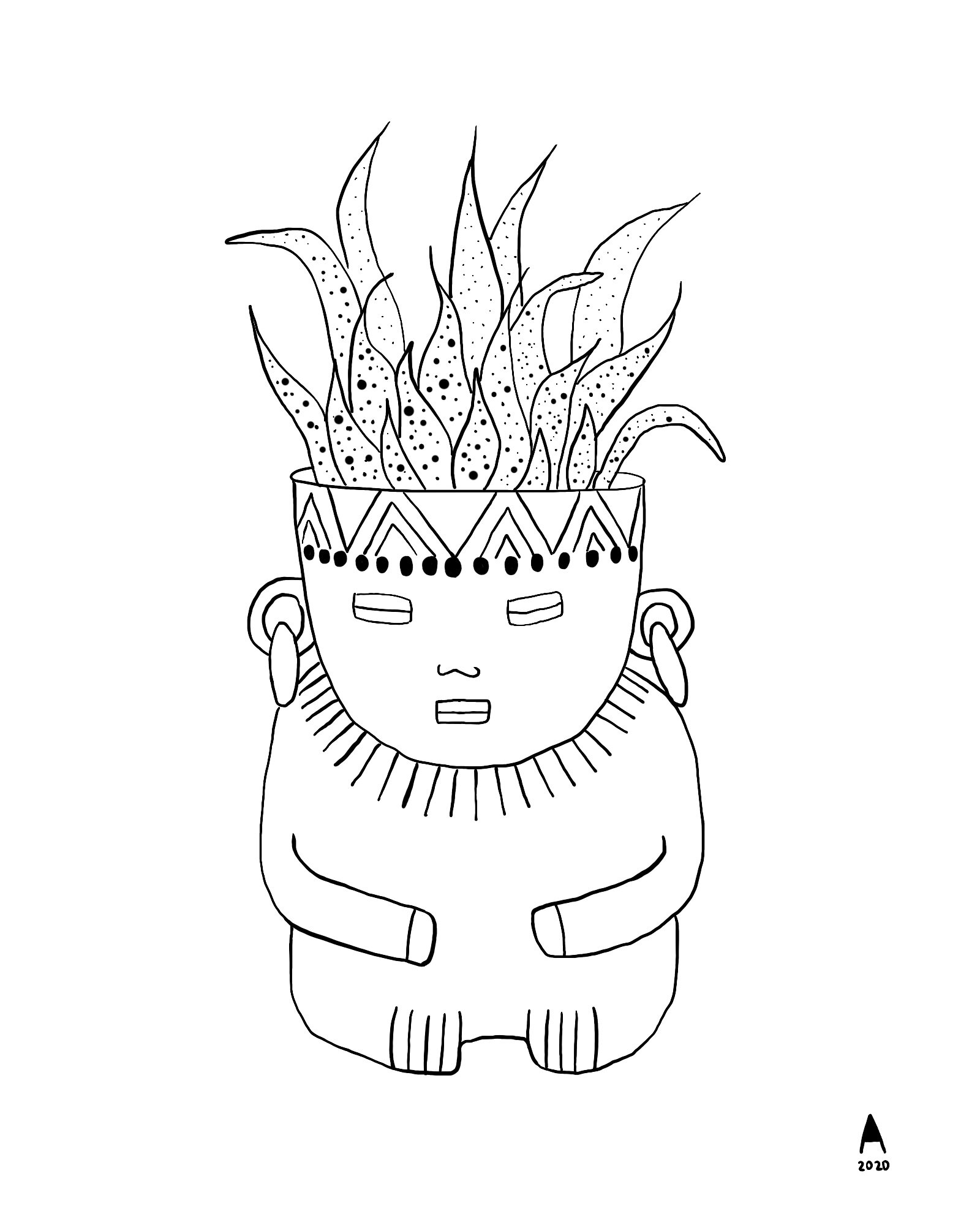 Free Coloring Pages Ariana Tavares