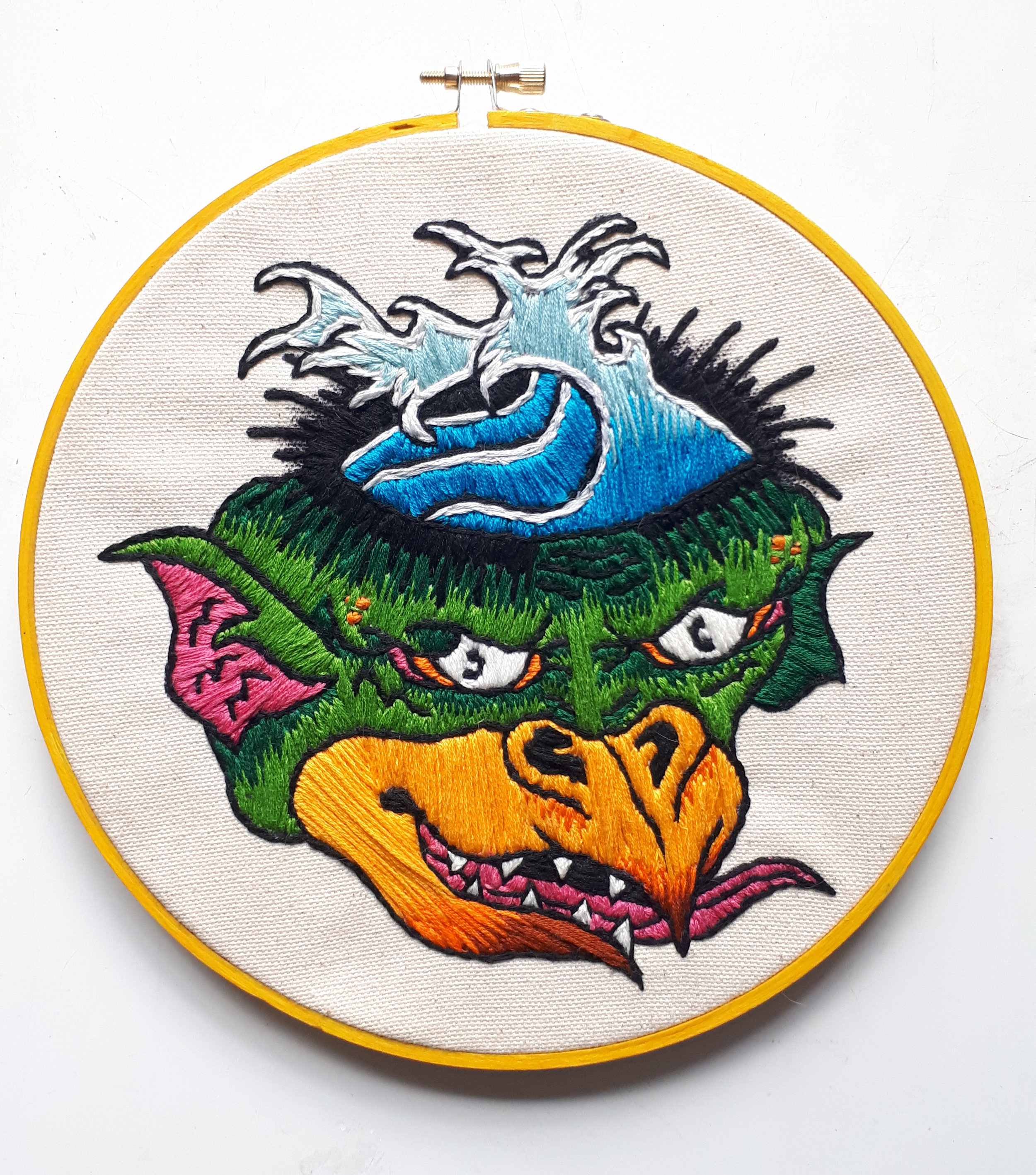 """Kappa  8"""" Embroidery Hoop  Not for sale"""